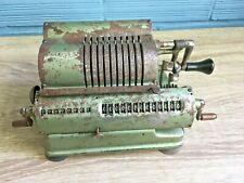 Walther Mechanical Calculator Vintage Antique Adding Machine Pinwheel Carl