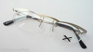 Glasses Socket Frame Exclusive Only Upper Edge Small Form Silver Ladies Size S