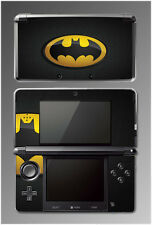 Original Retro Batman Logo Bat Man Signal Video Game SKIN Cover for Nintendo 3DS