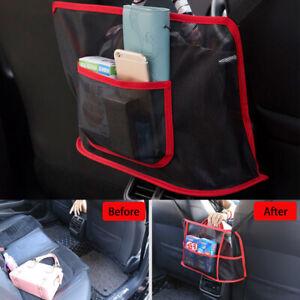 Advanced Car Net Pocket Handbag Holder Organizer Seat Side Storage Mesh Net UK