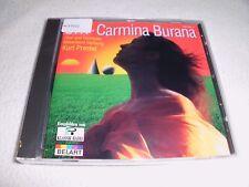 Carl Orff Carmina Burana (salzburg Mozarteum/prest CD