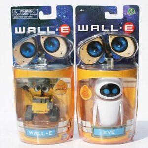 New Wall-E EVE Mini Robot Movable Action Figures Toys Dolls Gift Kids