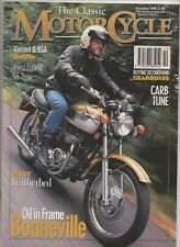 THE CLASSIC MOTORCYCLE OCTOBER 1994 - ROYAL ENFIELD MODEL 190