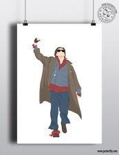 JOHN BENDER - Breakfast Club - 80's Icon Characters Poster Minimal Print Art