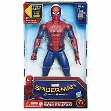 Marvel Spiderman Homecoming 12 Inch Action Figure EYE FX ELECTRONIC TALKING