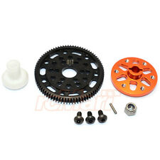 GPM Steel #45 Spur Gear 48P 81T Alum. Adapter SCX10 Wraith RC Cars #SSCX1581T