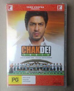 CHAKDE INDIA  HINDI MOVIE DVD BRAND NEW FACTORY SEALED ALL REGIONS ENGLISH SUBS