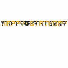 Lego BATMAN Movie Gotham Child's Party Add An Age Letter Banner Decoration