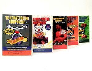 UFC 5 DVD Bundle - Rare Early Years UFC Tournaments (DVD, Region 4)