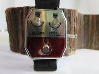 Golfer scorer vintage wristwatch stroke counter Hong Kong RP9