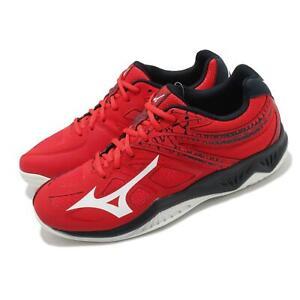 Mizuno Thunder Blade 2 Red Black White Men Volleyball Sneakers Shoes V1GA1970-63