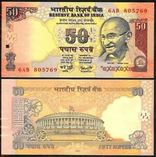 INDIA 50 RUPEES 2005 P97 UNCIRCULATED