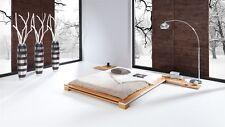 Massivholzbett Bett Schlafzimmerbett TOKYO Eiche massiv 200x200 cm