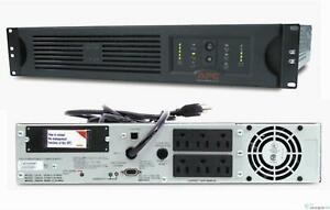 APC SUA1000RM2U Smart-UPS 1000VA 120V 670W USB, 2U Rackmount Backup New Battery