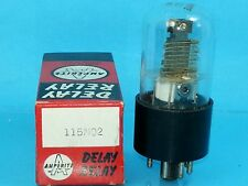 AMPERITE 115NO2 SPST VACUUM TUBE NO 2 SECOND HIGH VOLTAGE B+ AC DC TIME DELAY