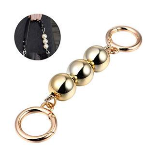 Bag Chain Strap Extender Imitation Pearl Bead Fashionable Bag Decor Accessory