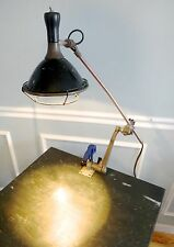 OC White Articulating Swing Arm Industrial Adjustable Work Lamp Half Mile Ray