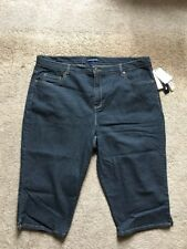 ARCHITECT WOMANS DENIM CLASSIC STRETCH CAPRIS SIZE 20W NEW WITH TAGS