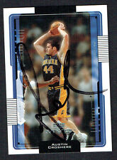 Austin Croshere #67 signed autograph auto 2001-2002 Upper Deck Basketball Card