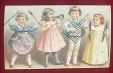 Victorian Trade Card Ivers & Pond Piano Co Sold by W J Dyer & Bro St Paul 1895