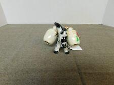 Vintage Donkey with Jugs Salt & Pepper Set- Japan