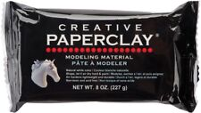 8oz Creative PaperClay Air Dry Natural Paintable Clay  Modeling Material White