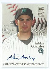2000 Topps Autographs Adrian Gonzalez AUTO AUTOGRAPH RC MARLINS