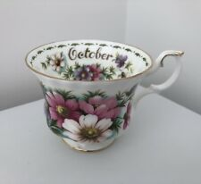 ROYAL ALBERT FLOWER OF THE MONTH OCTOBER COSMOS SINGLE CUP