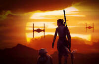 Star Wars The Force Awakens art booklet for Steelbook New  Limited Edition