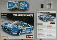 VINTAGE BBURAGO FERRARI GTO PIONEER KIT SUPER (1984) 1:24 #5172 MADE IN ITALY