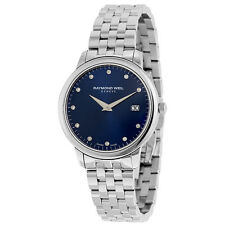 Raymond Weil Toccata Blue Diamond Dial Stainless Steel Ladies Watch