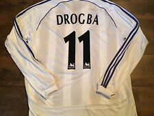 2006 2007 Chelsea Drogba L/s Formotion Player Issue Football Shirt XL Maillot