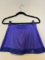 Womens Adidas Climate Tennis Golf Skort Purple XS