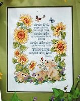 ✔️ PRAISE GOD from Whom Blessings Flow Hymn Sampler Cross Stitch Chart Doxology