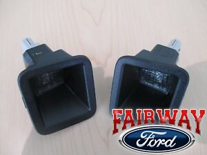 17 thru 20 Super Duty F-250 F-350 OEM Ford Rear License Lamps Lights LED - PAIR