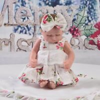"Lovely Flowers Dress Underpants for 10""-11"" Reborn Baby GIrl Dolls Clothes"