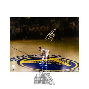 Stephen Curry Autographed Golden State Warriors 16x20 Photo - JSA COA (Gold Ink)