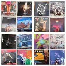Classic ROCK & ROLL Music Albums 33rpm  VINYL LP RECORDS (auction#4) $9/each LP