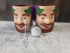 Krewe Of Bacchus New Orleans Mardi Gras Can Koozies & Doubloon from 1968 Awesome