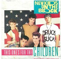 "New Kids On The Block ‎– This One's For The Children 7"" Vinyl 45rpm P/S"
