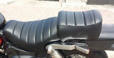 HONDA Magna VF750 1987-88 Black 2 Piece Custom Hand Made Motorcycle Seat Cover