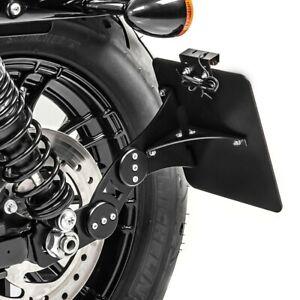 Support de plaque latéral pour Harley Davidson Sportster 1200 T Superlow 14-20 B