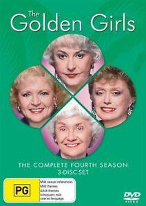 The Golden Girls - Season 4 : NEW DVD