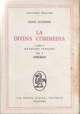 La Divina Commedia 1 Inferno (Scrittori Italiani) : Dante Alighieri