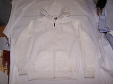 SOUTHPOLE Zip Hoodie Size L, off white