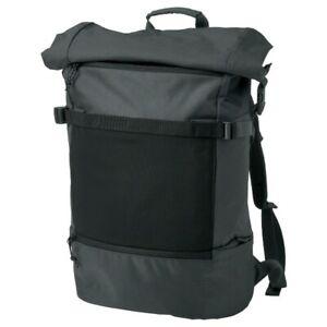 IKEA Varldens Large Water Proof Backpack Roll Top Laptop Pocket Book Bag New