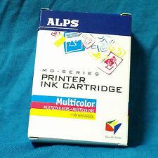 ALPS, Cartucho de tinta de impresora Multicolor, 106025-00, nuevo.