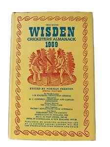 Wisden Cricketers' Almanack 1969 Hardback Edition