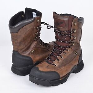 """Danner 42291 Men's 12 Pronghorn 8"""" GTX Brown Leather Gore-Tex 200G Hunting Boot"""