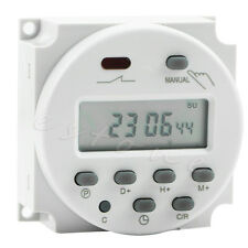 New AC 12V 16A LCD Display Digital Power Programmable Timer Time Relay Switch